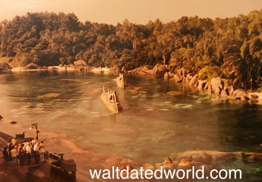 View of 20,000 Leagues Under the Sea from Skyway Walt Disney World
