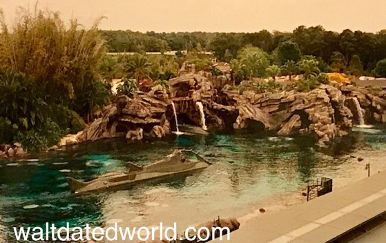 View of 20,000 Leagues Under the Sea from Skyway.