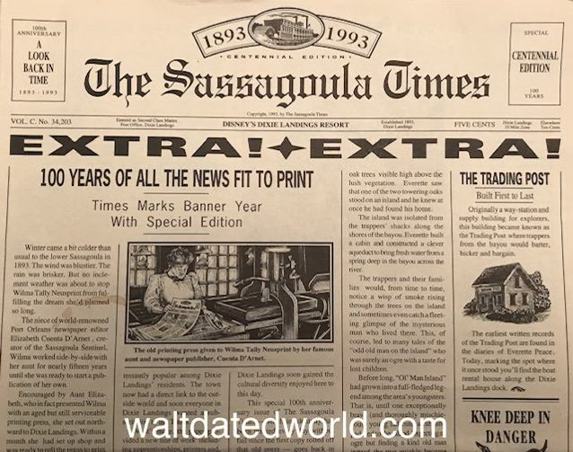 Dixie Landings Sassagoula Times