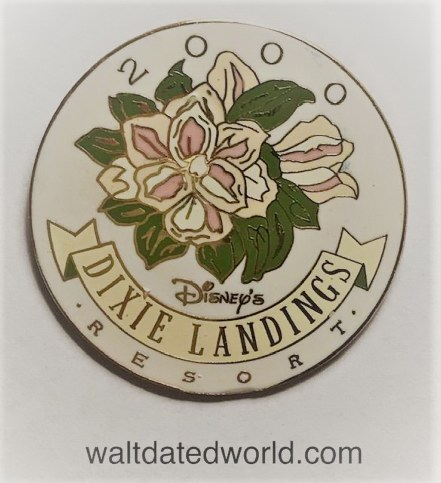 Dixie Landings pin Walt Disney World