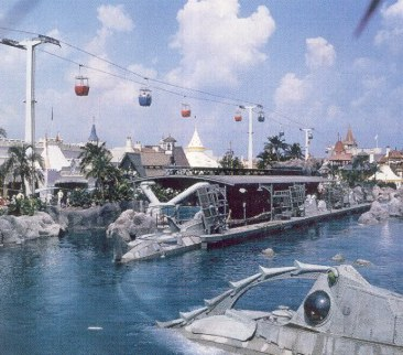 20,000 Leagues Under the Sea, Skyway and Mr. Toad's Wild Ride