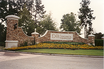 Dixie Landings entrance