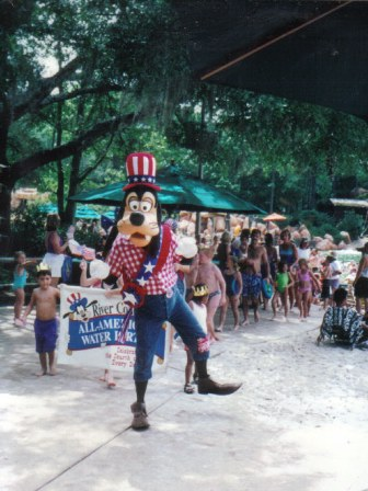 Goofy River Country All American Water Party